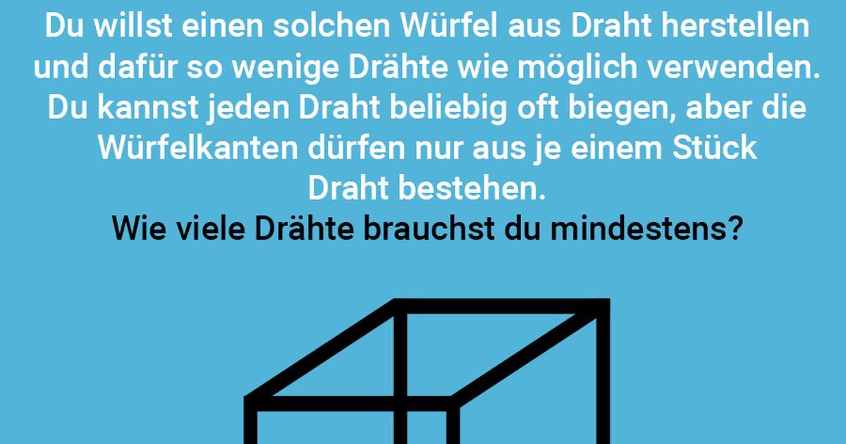 Berühmt Drahtgitter Würfel Zeitgenössisch - Elektrische Schaltplan ...